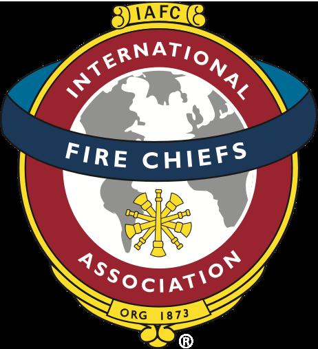 iafc international association of fire chiefs fire station logo designer fire rescue logo design