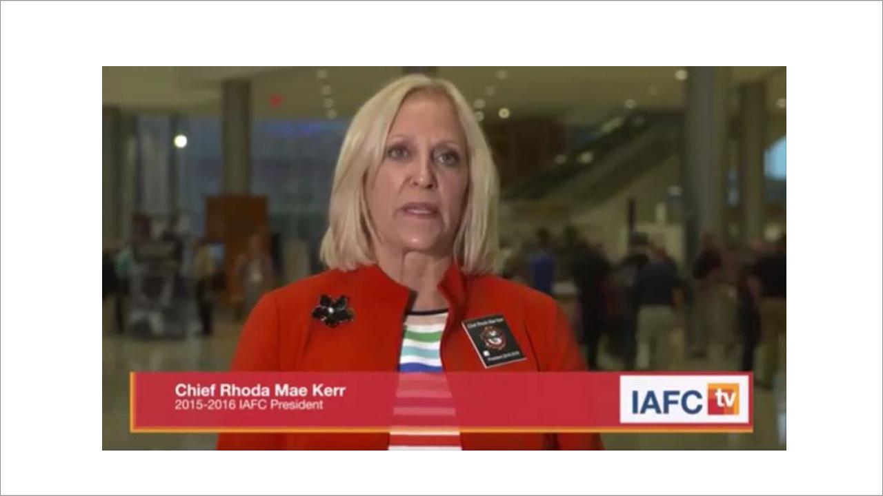 Chief Kerr at FRI 2016