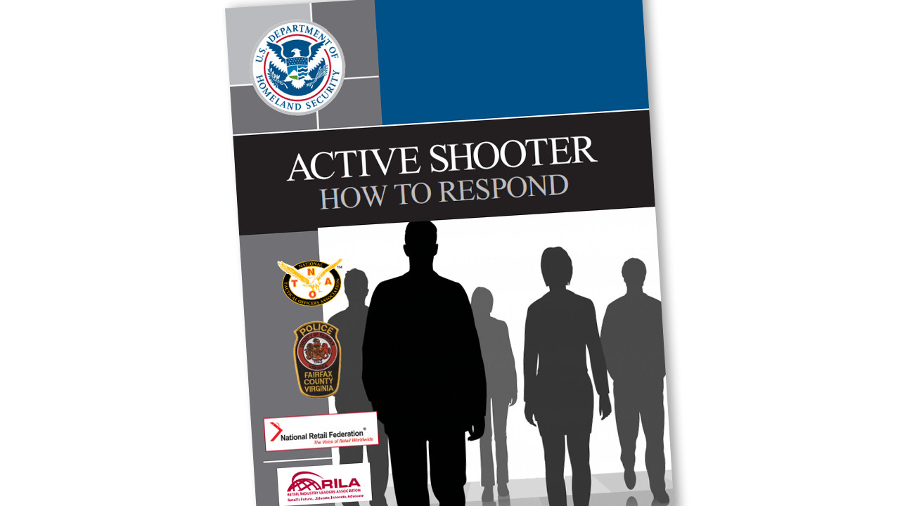 DHS Active Shooter How to Respond Cover