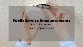 Alarm PSAs