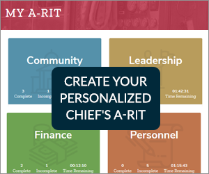Create your personalized Chief's A-RIT