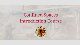 Confined Spaces Introduction Course via IAFF 1280x720