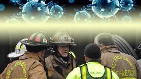 Chief, fire personnel on scene