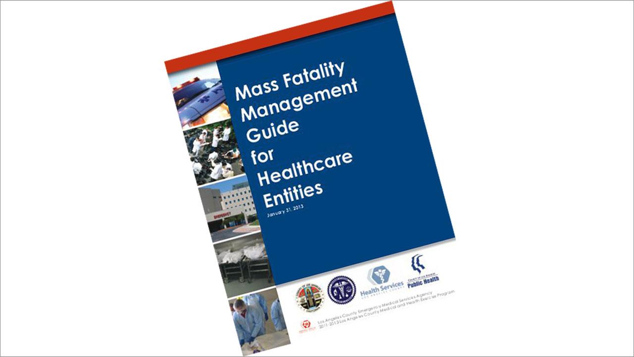 Mass Fatality Management Guide