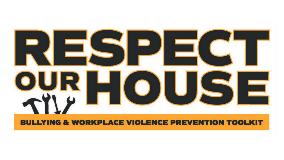 Respect Our House logo