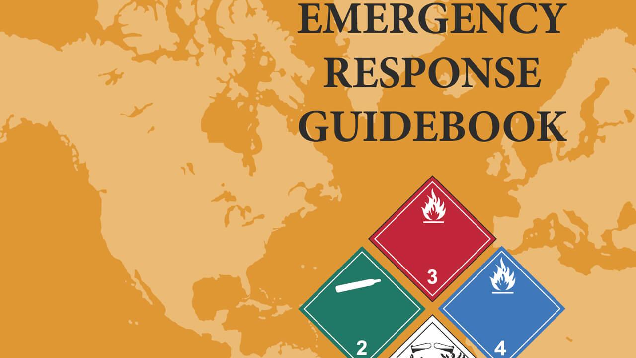 Emergency Response Guidebook cover