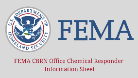 FEMA CBRN Office Chemical Responder Information Sheet 1280x720