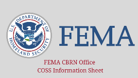 FEMA CBRN Office COSS Information Sheet 1280x720