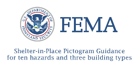 Federal Emergency Management Agency (FEMA) released Shelter-in-Place Pictogram Guidance for ten hazards and three building types