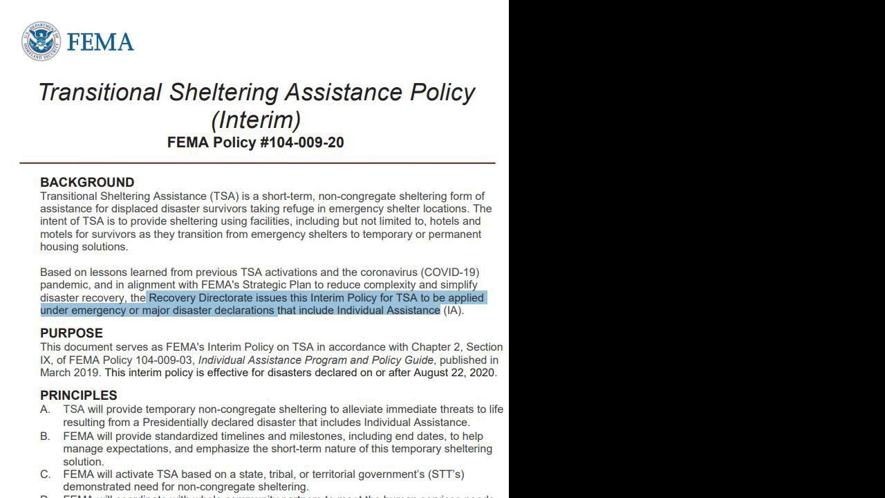 FEMA_TransitionalShelteringAssistancePolicy_1280x720