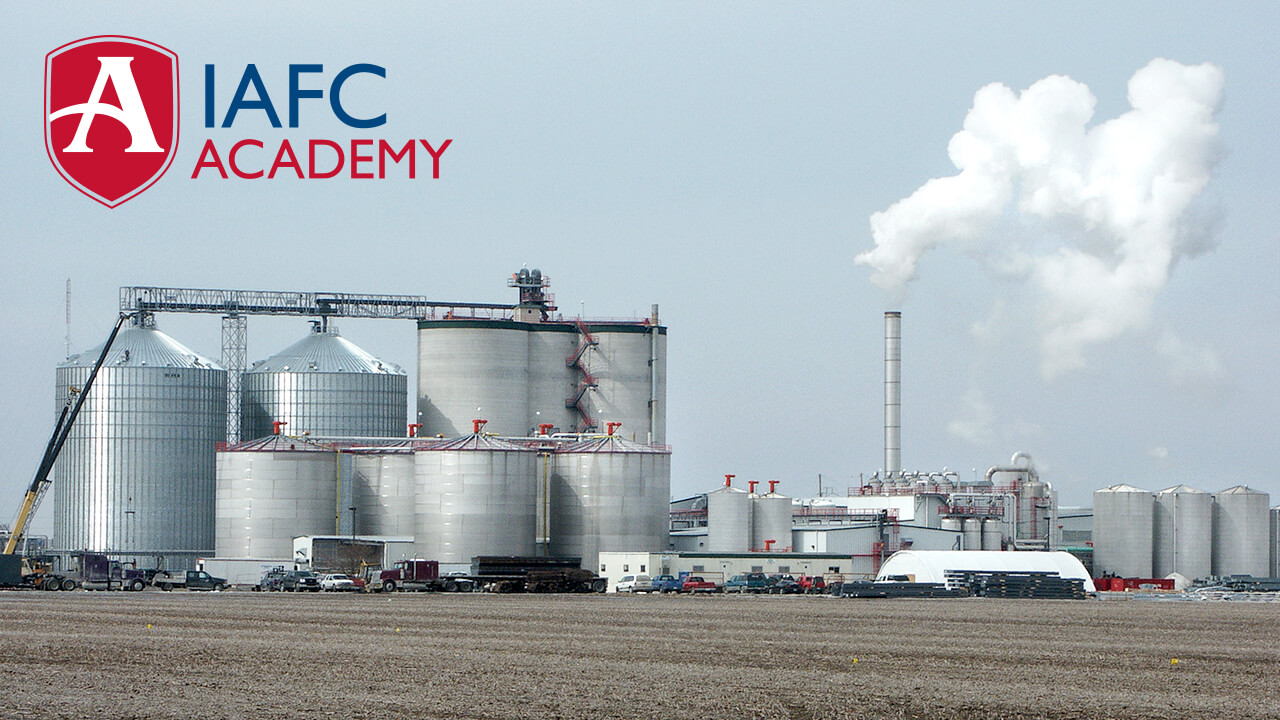 IAFC Academy - Iowa ethanol plant - public domain photo
