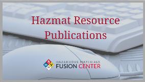 Hazmat Resource Publications 1280x720