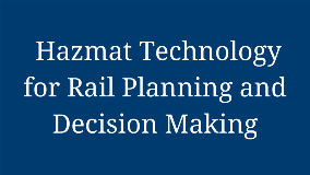 Hazmat Technology for Rail Planning and Decision Making 1280x720