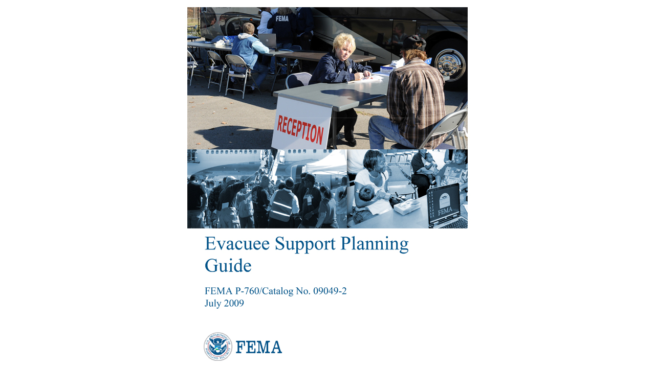 Evacuee Support Planning Guide