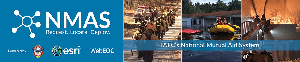 IAFC's National Mutual Aid System – Request. Locate. Deploy.