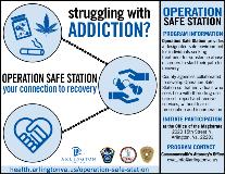 Operation Safe Station Infographic