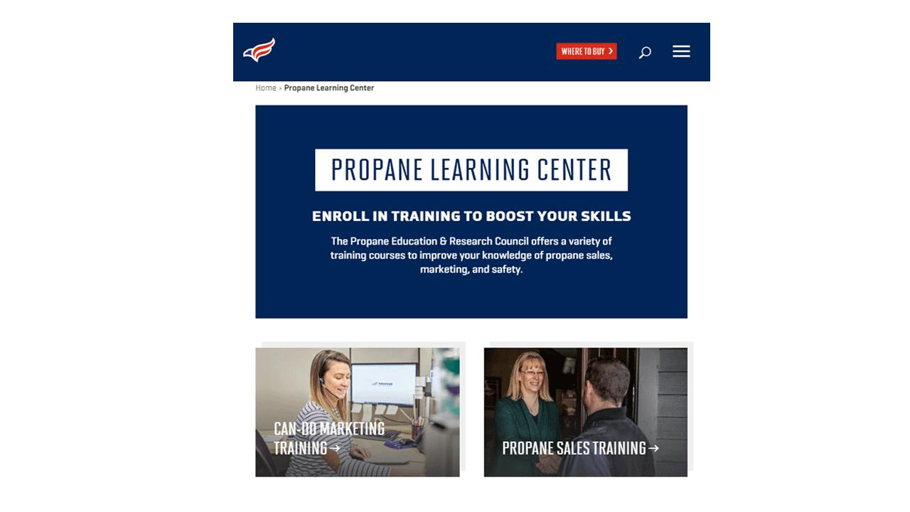Propane Learning Center