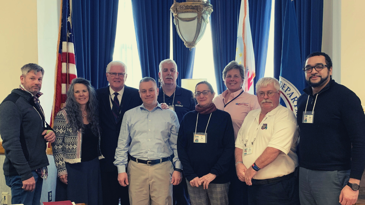 IAFC Bullying, Harassment, and Workplace Violence Prevention Work Group curriculum sub-group, traveled to the National Fire Academy for important work.