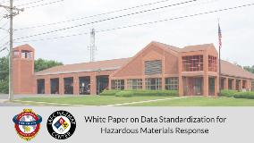 White Paper on Data Standardization for Hazardous Materials Response