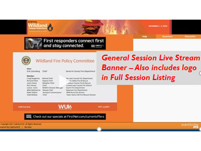 Exclusive Daily Sponsor - live-streaming General Session