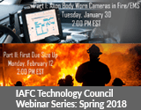 IAFC Technology Council Webinar Series Spring 2018