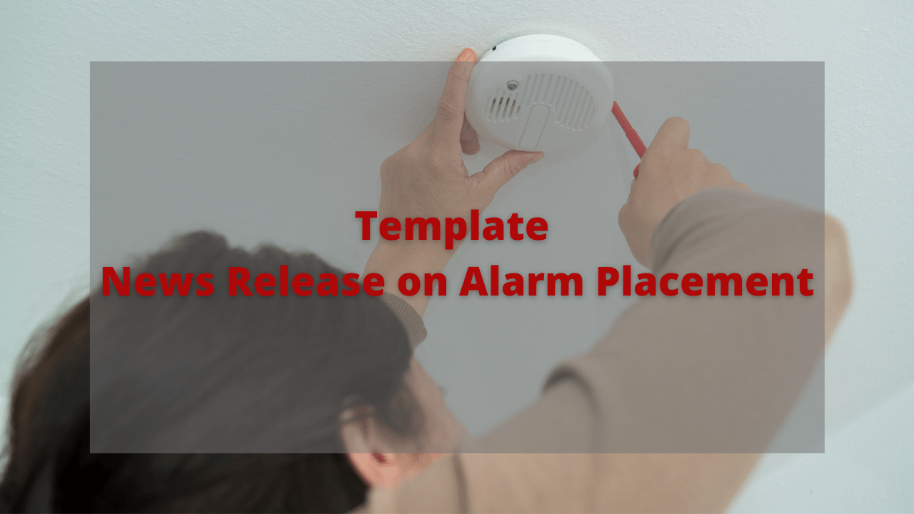 News Alarm Placement TEMPLATE