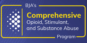 Bureau of Justice Assistance (BJA) as part of the Comprehensive Opioid, Stimulant, and Substance Abuse Program (COSSAP)