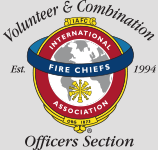VCOS IAFC Volunteer and Combination Officers Section logo