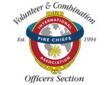 Volunteer and Combination Officer Section logo