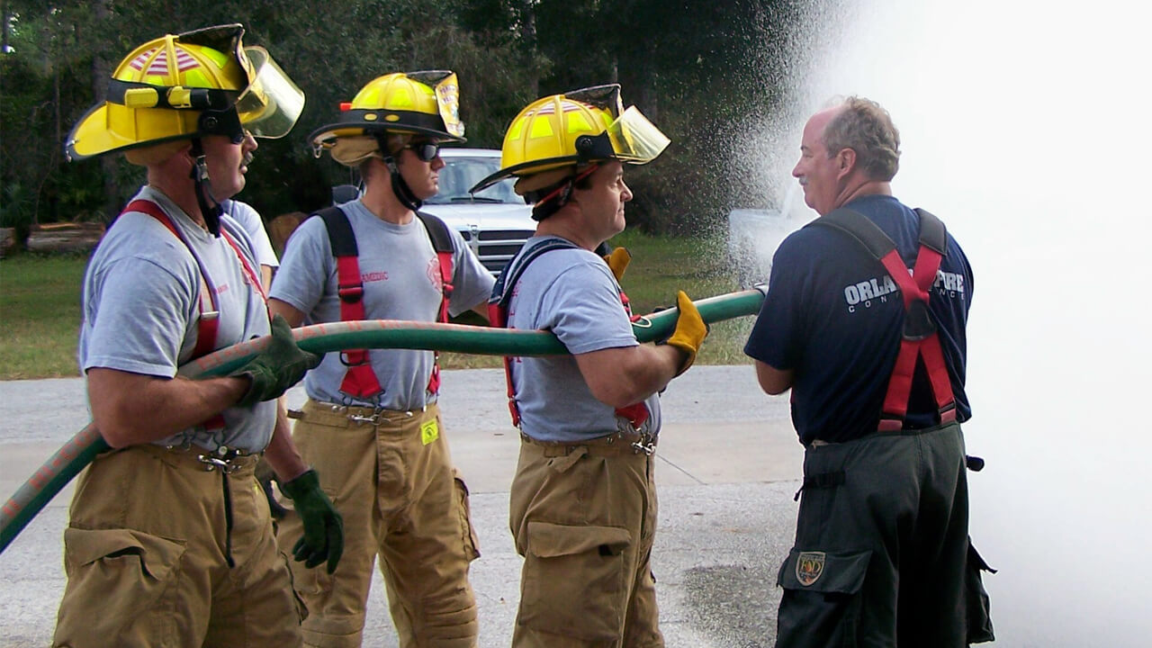 Training on a firehose
