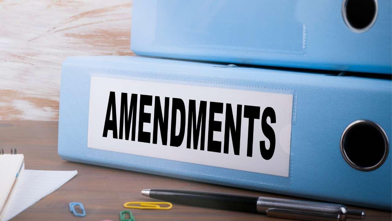 CBR Amendments