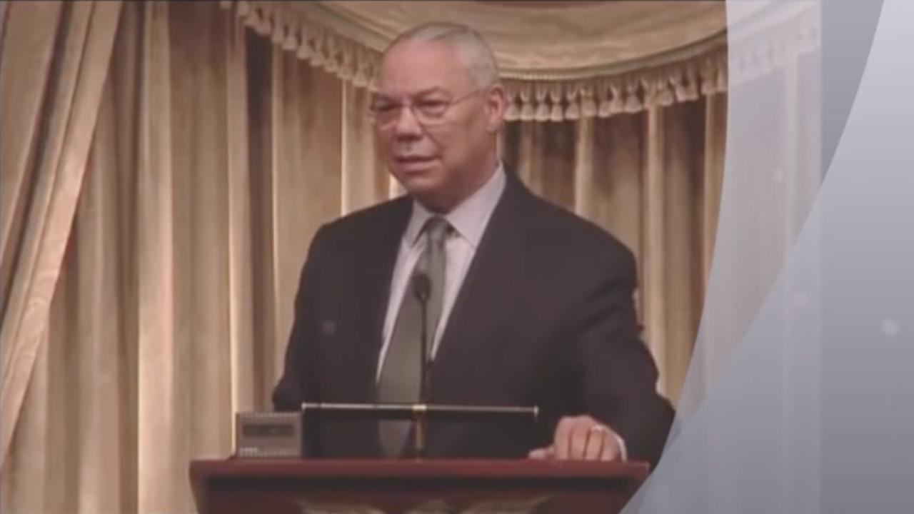 Video: Colin Powell on Leadership