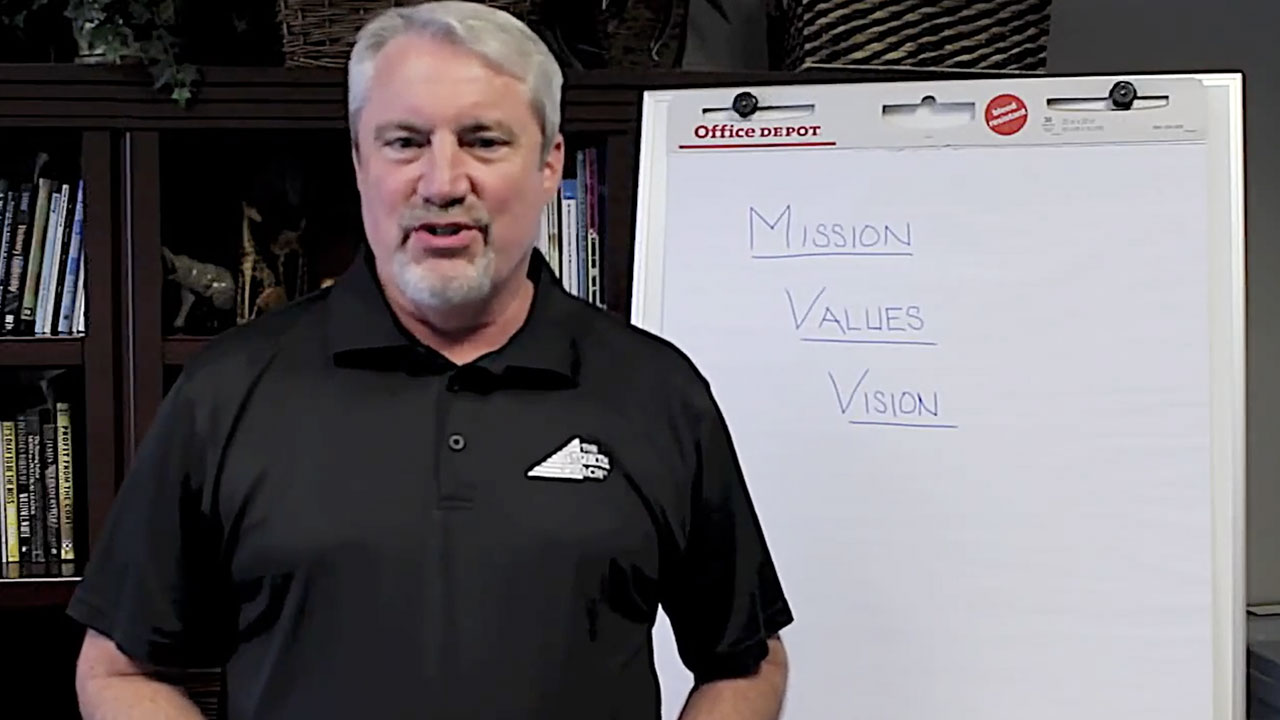 Video: Mission, Values, Vision: Foundations for all Great Organizations