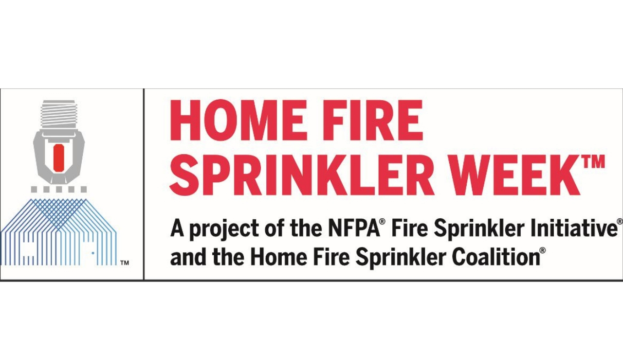 NFPA Home Fire Sprinkler Week_1280x720
