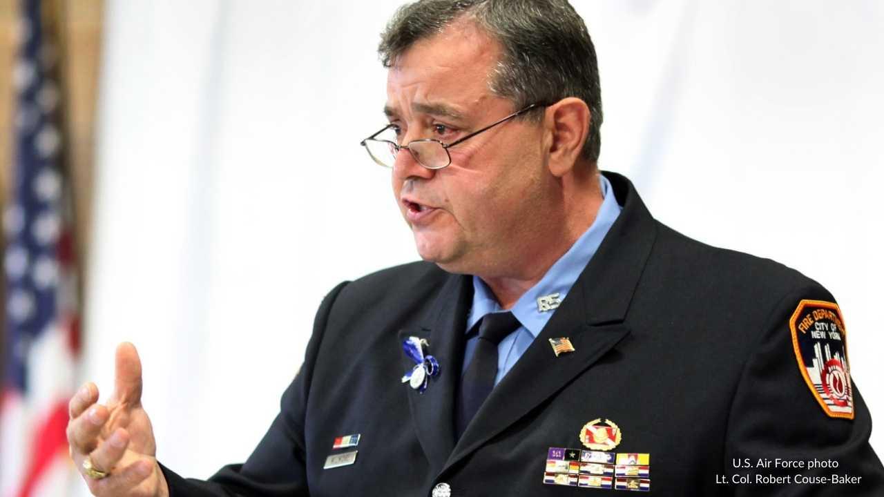 U.S. Air Force photo   Lt. Col. Robert Couse-Baker