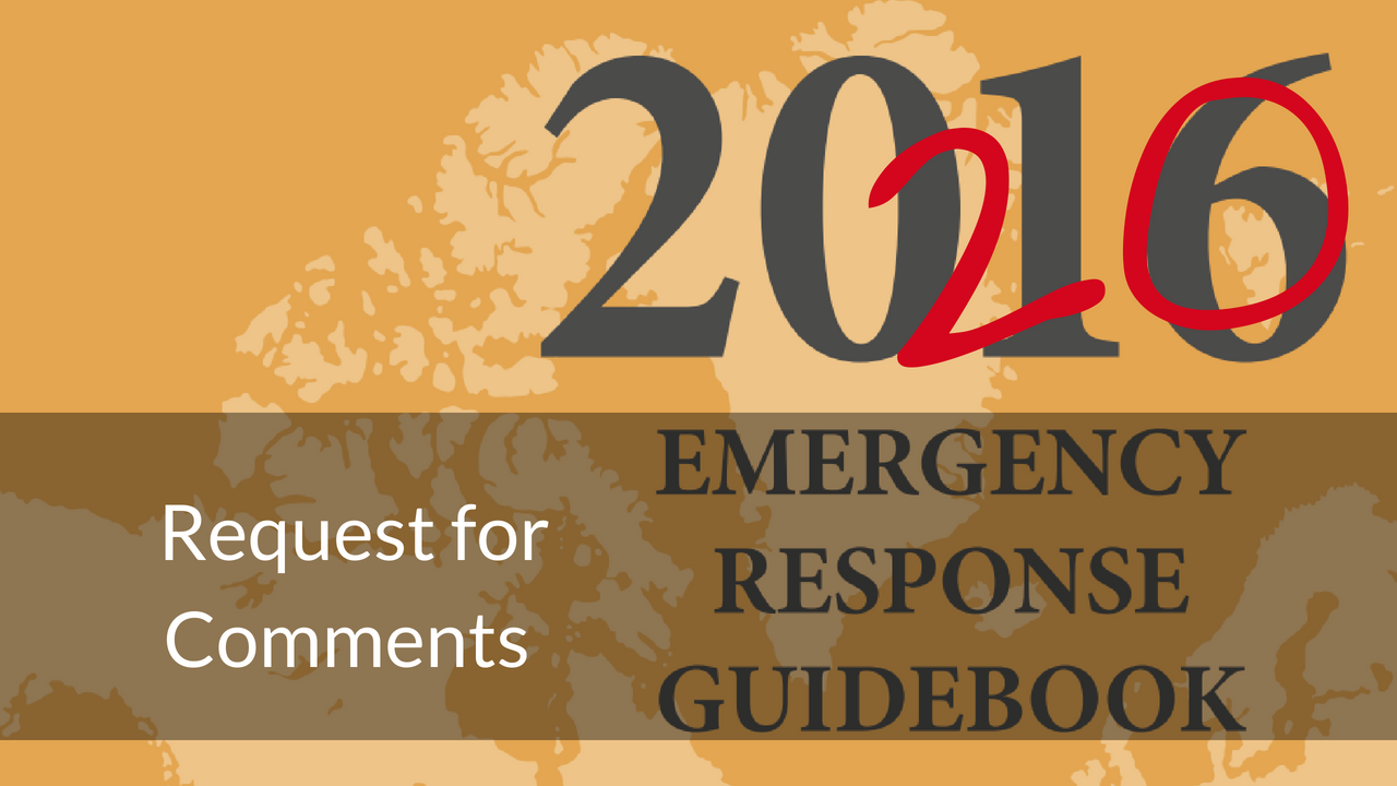 ERG 2020 Request for Comments