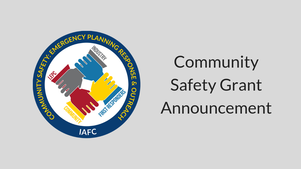 Community Safety Grant Announcement